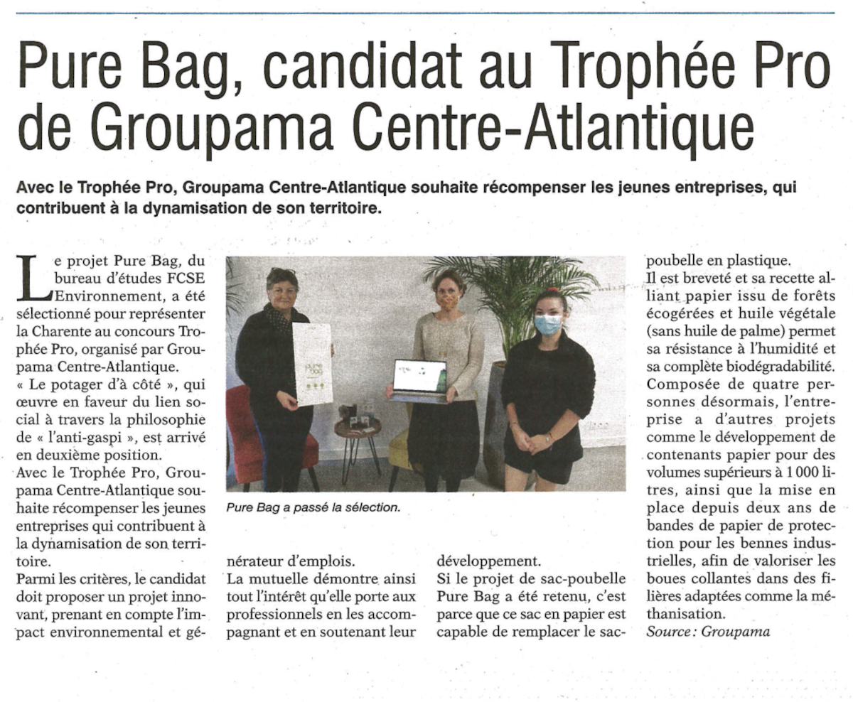 article Trophée Pro Groupama